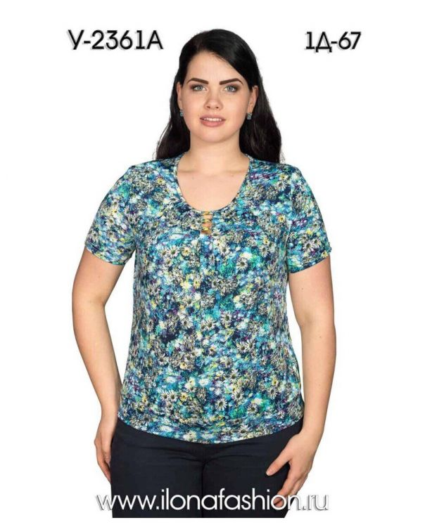 57c9dcb7556d9d0 Женская одежда больших размеров Илона оптом и в розницу купить, цена ...